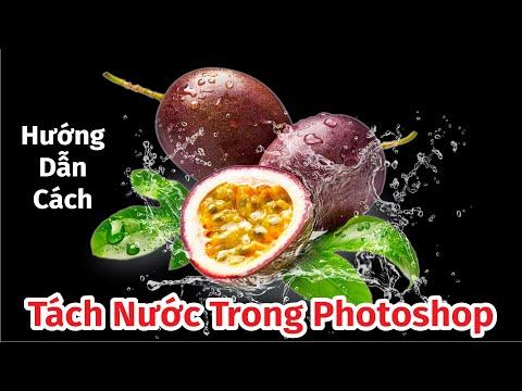 Hướng Dẫn Cách Tách Nước Trong Photoshop Cực Kỳ Đơn Giản Ai Cũng Làm Được | Photoshop 2021 Tutorial
