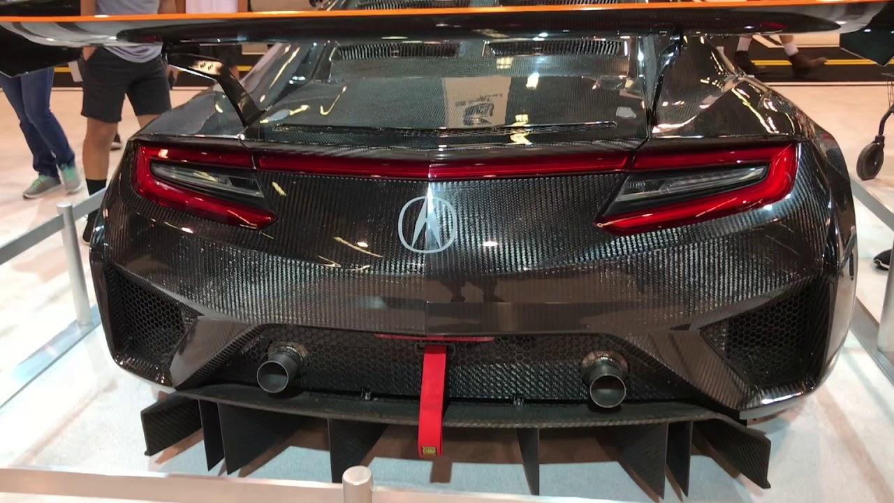 Acura Nsx Gt3 Carbon Fiber