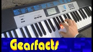 Casio LK-136 Key lighting keyboard with awesome Dance Music feature!