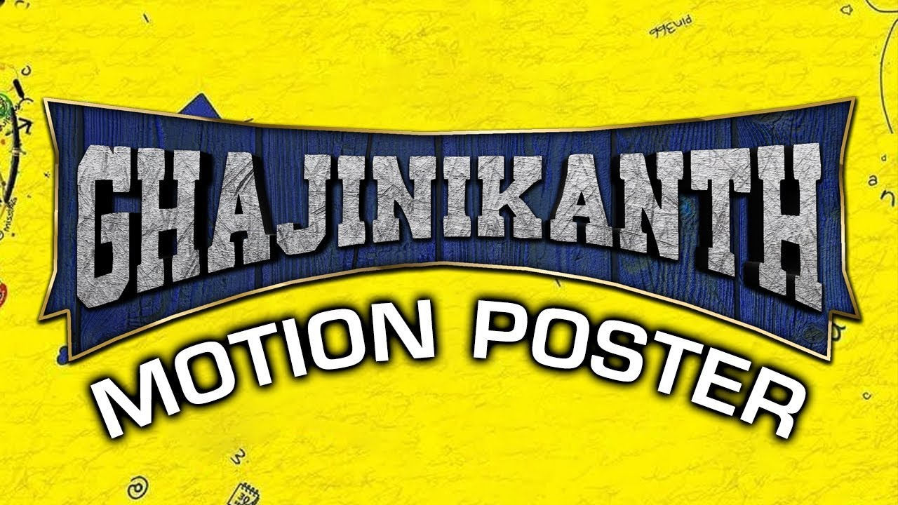 Ghajinikanth (2019) Official Hindi Dubbed Motion Poster | Arya, Sayyeshaa, Sathish, Rajendran Watch Online & Download Free
