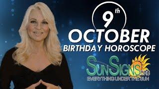 Birthday October 9th Horoscope Personality Zodiac Sign Libra Astrology
