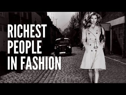 The Top 10 Richest People in the Fashion Industry in 2021