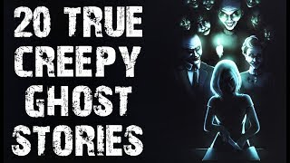20 TRUE Creepy & Disturbing Paranormal Ghost Stories | (Scary Stories)
