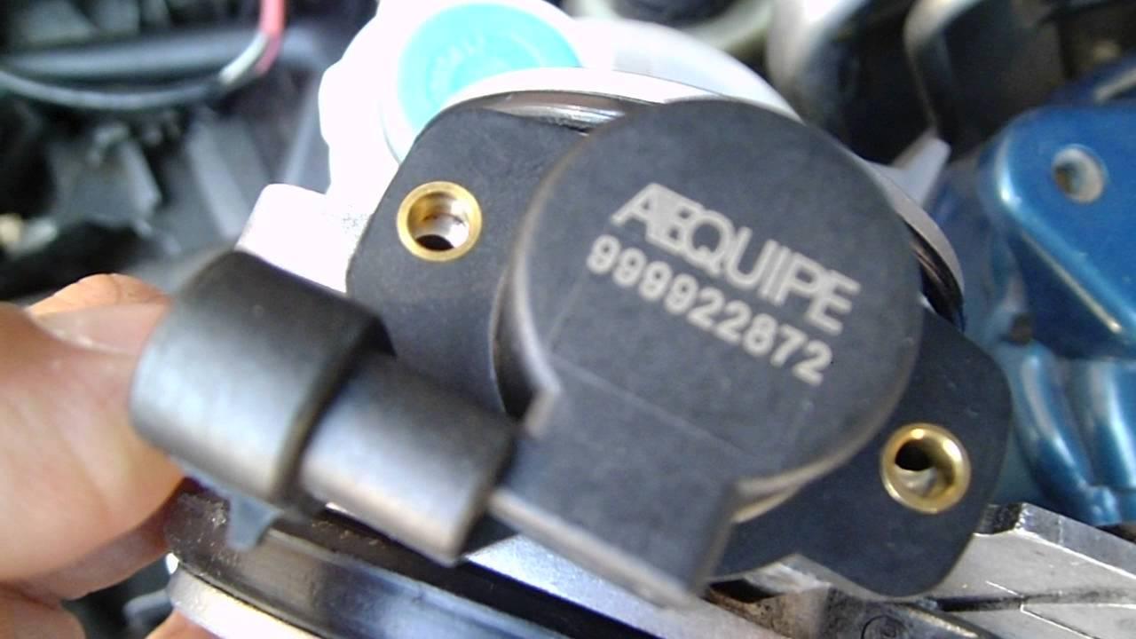 Mass Air Flow Sensor >> Sensor TPS : montaje final Renault Megane I (K4M) - YouTube