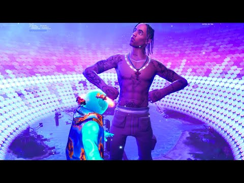 Así fué el EVENTO de TRAVIS SCOTT en Fortnite: battle royale (Repetición)