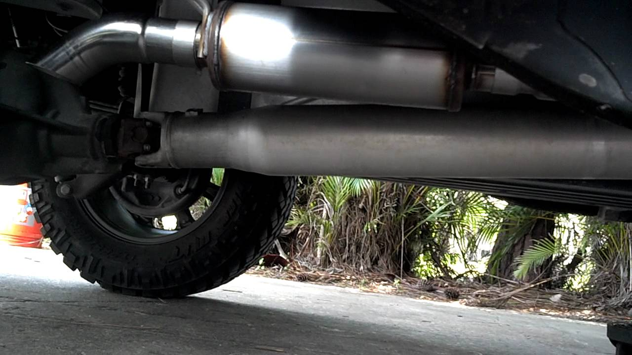 Magnaflow Turndown Exhaust For 07 09 Gm Trucks Youtube