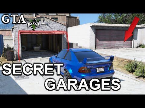 GTA 5 - Secret Garages Locations (PS3, PS4, Xbox360, XboxOne and PC)