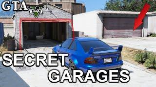 GTA V - Secret Garages Locations  - Offline - Online - PC - PS3 - PS4 - Xbox 360 - Xbox1