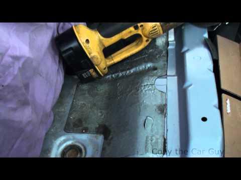 Making a Toyota 4runner fuel pump access hatch part 1