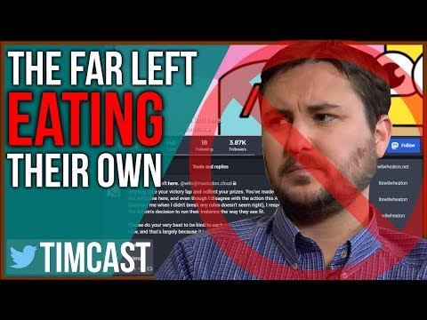 Far Left Eats Its Own, Wil Wheaton Censored, Suspended