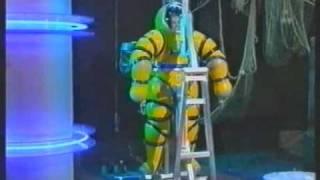 Katie Hill in NEWT diving suit