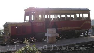 Rail Motor (Rail Car) Kalka - Shimla Hill Toy Train(Detail Video), UNESCO World Heritage Site