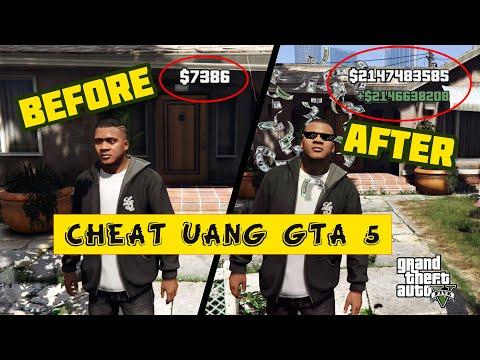 "CHEAT UANG GTA 5 TERBARU 2021 ""LANGSUNG UNLIMITED"" NO CLICK BAIT"