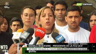 Venezuela -  Estudiantes convocan a unirse al frente amplio ...