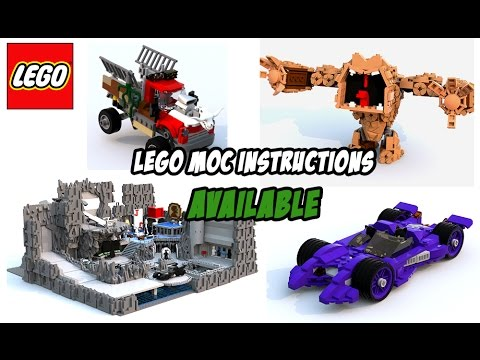 Custom Lego Instructions Now Available! - YouTube