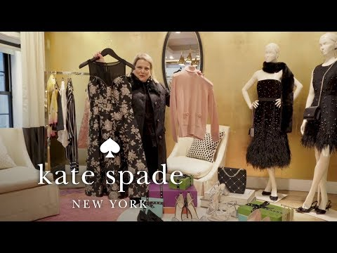 perfect holiday party outfits to end 2018 | talking shop | kate spade new york