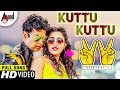 Victory 2 | Kuttu Kuttu |  Kannada New Video Song Full HD | Sharan | Apoorva | Arjun Janya