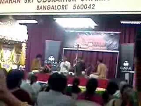 Trichur brothers on 19 Feb: Concert @ Odukathur Mutt, Ulsoor : Bangalore
