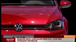 Has The European Car Market Bottomed Out?