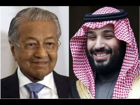 Tun M on condemning Saudi Crown Prince: We'll see what Japan and China say