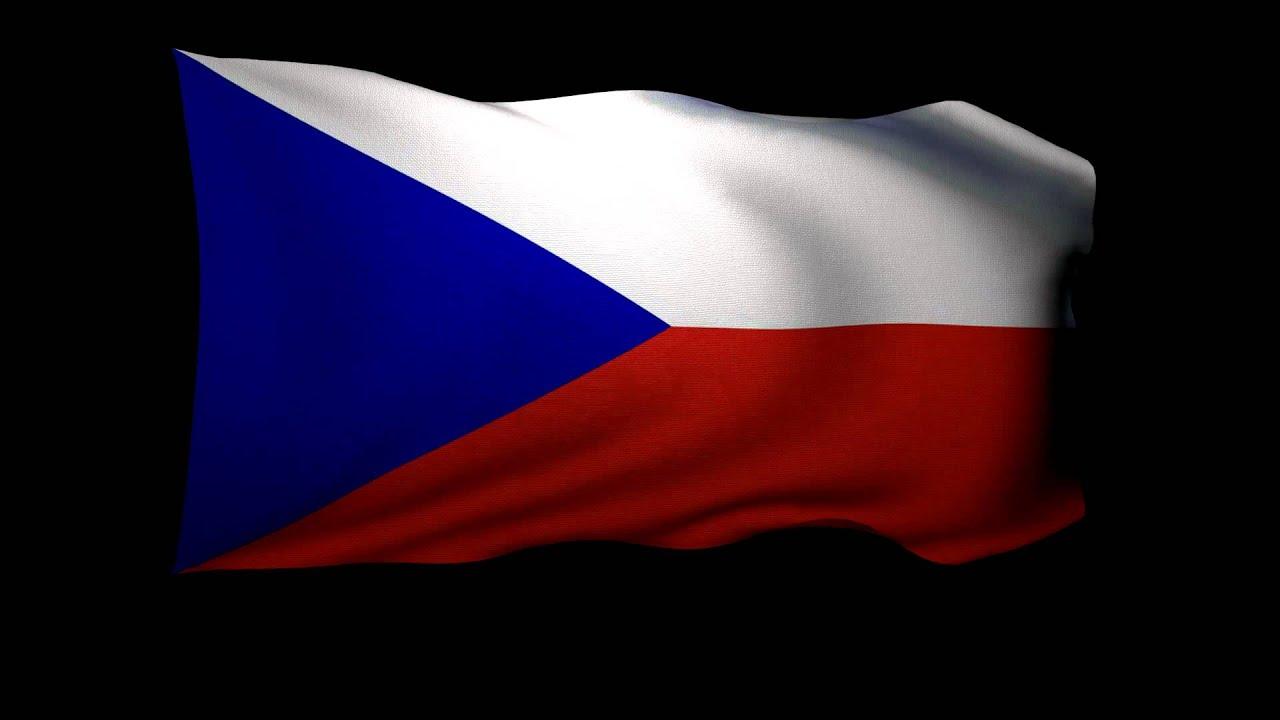 3D Rendering Of The Flag Czech Republic Waving In Wind
