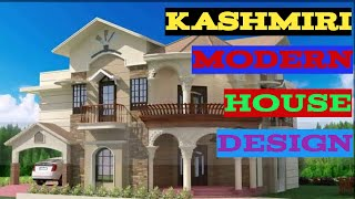 Kashmiri Modern House Design  House Design