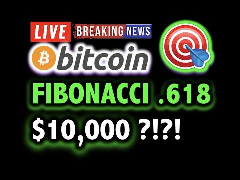 BITCOIN FIBONACCI SEES $10,000 TARGET?! 💰✅ LIVE Crypto Analysis TA & BTC Cryptocurrency Price News