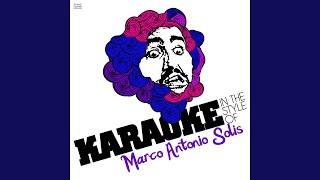 No Puedo Olvidarla (Karaoke Version)