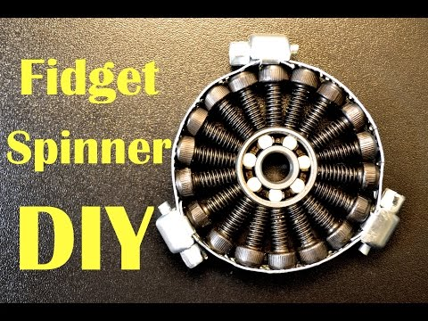 Fidget Spinner DIY: Design it Yourself! (P1)