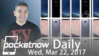 Samsung Galaxy S8 unique display, OnePlus 3T Midnight Black & more   Pocketnow Daily