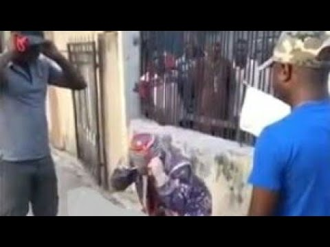 Video: Soldiers Dealt With A Masquerade Who Harassed Them For Money.