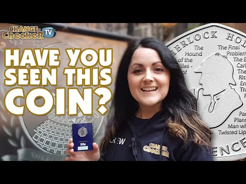 Sherlock Holmes detective mission in London! Have you seen the new 50p coin?