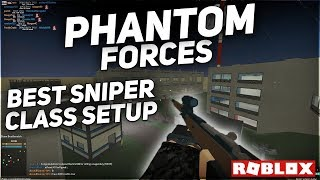 THE BEST MOSIN NAGANT Sniper Class Setup in Phantom Forces (Roblox)