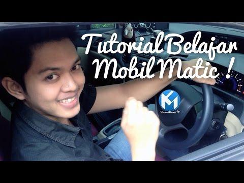 TIPS MOBIL MATIC TIDAK MUNDUR DI TANJAKAN | BELAJAR MOBIL MATIC.