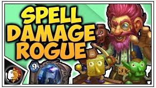 Hearthstone: Legend Spell Damage Rogue - Rise Of Shadow