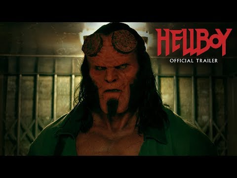 "Hellboy (2019 Movie) Official Trailer ""Smash Things"" – David Harbour, Milla Jovovich, Ian McShane"