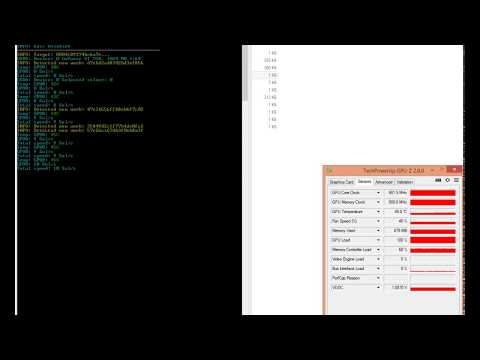 Майнинг Zcash на GeForce GT 730