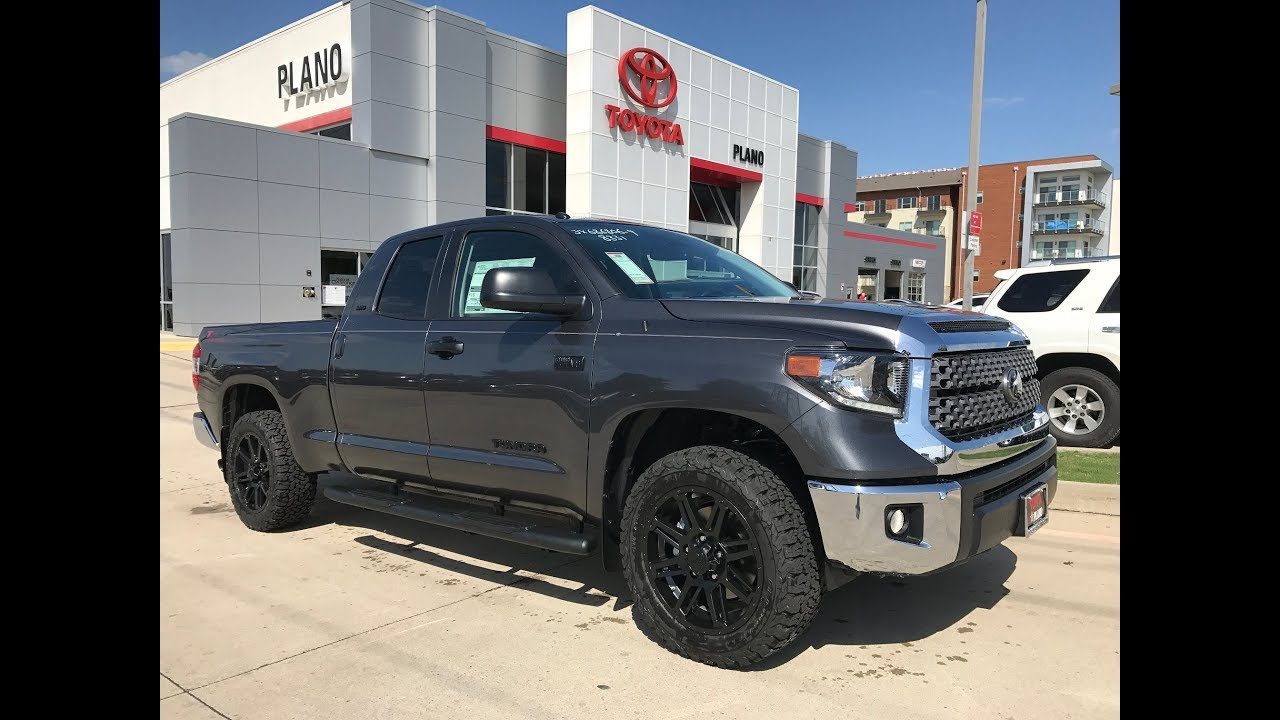 2018 TOYOTA Tundra SR5 with TSS Package in Magnetic Gray ...