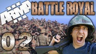 90% Pacifist BATTLE ROYAL WIN! - (Arma 3 - Battle Royal - 02)