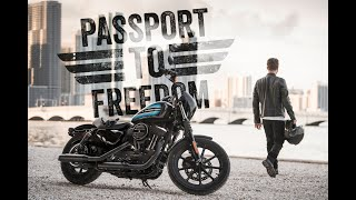 Motorradführerschein zur Freiheit - Passport to Freedom - Harley-Davidson Thunderbike