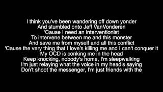 Repeat youtube video Monster Lyrics - Eminem ft. Rihanna