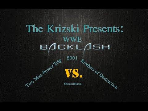 The Krizski - Nostalgiakatsaus WWE Backlash 2001