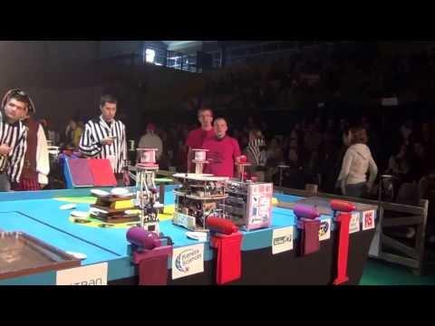 2012 - PM-ROBOTIX vs ESIAL Robotik - Coupe de France de robotique : Série 5