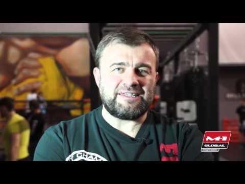 Mikhail Porechenkov invites on M-1 Challenge 56, 10 April, Moscow, Crocus-Expo