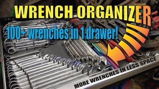 Diy Toolbox Wrench Organizer Custom Made