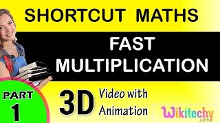 Math tricks for fast calculation maths class 5 6 7 8 9 10 tricks shortcuts online videos