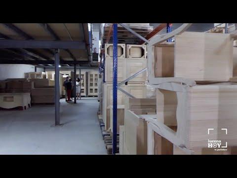 VÍDEO: El Ayuntamiento de Lucena confía en el sector del mueble impulsar la economía. Visita a Mucor