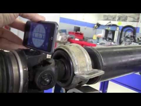 Propeller Shaft U-Joint Phasing