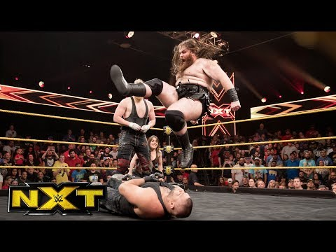 SAnitY swarms The Authors of Pain: WWE NXT, Aug. 9, 2017