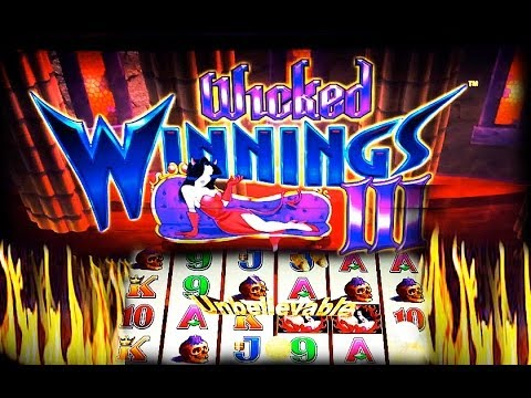 Max Bet Aristocrat Wicked Winnings Iii Nice Win